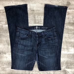 7 For All Mankind 'A' Pocket Bootcut Jeans - Sz 29